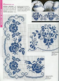 Crochet Border 6 T Casa Roses