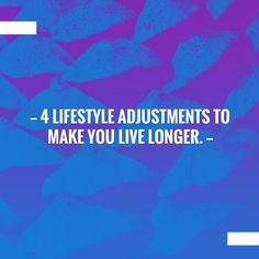 Just posted! 4 Lifestyle Adjustments to make you live LONGER. http://expresslinklogistics.blogspot.com/2017/09/4-lifestyle-adjustments-to-make-you.html?utm_campaign=crowdfire&utm_content=crowdfire&utm_medium=social&utm_source=pinterest