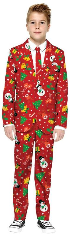 ADULT SANTA CLAUS FUNSIE PAJAMAS COSTUME JUMPSUIT CHRISTMAS HOLIDAY RED WHITE