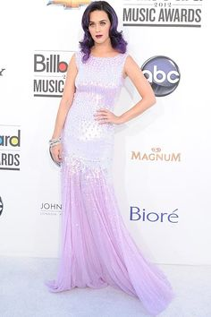 Red carpet: Billboard Music Awards 2012 |   Katty Perry était splendide, sauf peut être sa couleur de cheveux