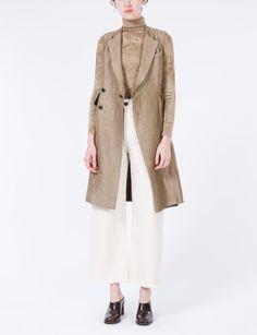 Maple Dress Frayed Wool
