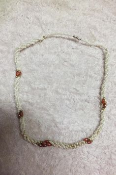 Necklaces - Pearl like Glass Beads Choker 44cm for sale in Nelspruit (ID:200778479)