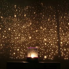Sternenhimmel Projektor bunten LED-Nachtlicht (gelegentliche Farbe, angetrieben durch 3 AA-Batterie) 2016 - €6.85