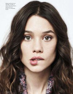 Astrid Berges-Frisbey #ClippedOnIssuu from August 2014