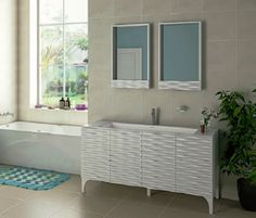 Image On New Hampshire inch Bathroom Vanity Carrara Charcoal Gray Includes Authentic Italian Carrara Marble Countertop Charcoal Gray Cabinet with Sof u