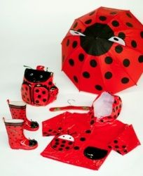 Ladybugs! I want all these in adult sizes :)