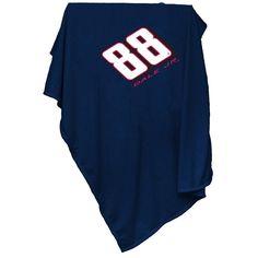 Dale Earnhardt Jr NASCAR Sweatshirt Blanket Throw