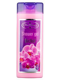 Gel de duș energizant cu apă de trandafiri, orhidee şi ulei de argan  codBF3002  Aroma îmbietoare de orhidee sălbatică îţi va răsfăţa simţurile!  Datorită apei de trandafiri, produsul curăţă delicat şi energizează pielea înlăturând astfel oboseala. Confortul de durată este asigurat de hidratarea în profunzime a pielii.  200 ml Sparkling Ice, Shower Gel, Drinks, Bottle, Fragrance, Drinking, Beverages, Body Wash, Flask
