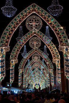 Festa Popolare di San Rocco (Ruffano) Apulia, Italy