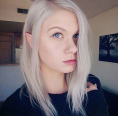 Seriously considering elf ears... If only someone could promise me that they will look like that...