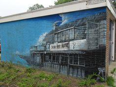 Graffiti, Eikenstraat, Augustus 2016.