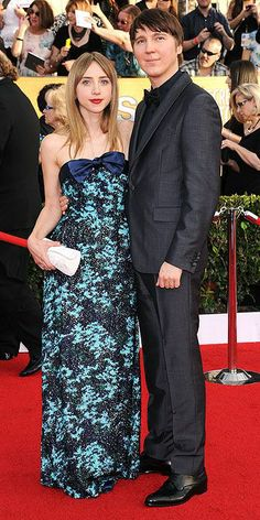 Zoe Kazan and Paul Dano - SAG Awards 2014: Arrivals : People.com
