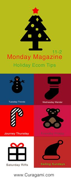 Ecommerce Holiday Tips Magazine - 35 Tips in 7 Days on Curagami