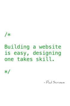 Being a web developer and designer...this is AWESOME!