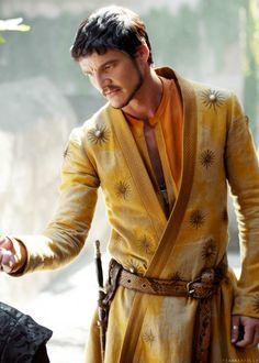 Oberyn Martell of Dorne. Pedro Pascal