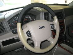 How to wrap steering wheel in 550 cord