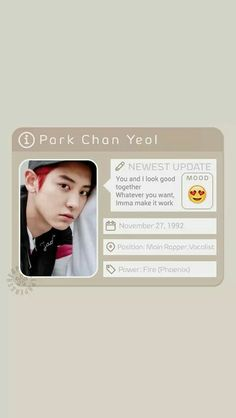Wallpaper Chanyeol
