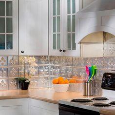 Decorative Tile Backsplash Fasade 24 Inx 18 Interrain Pvc Decorative Tile Backsplash In