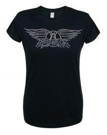 Aerosmith (Diamante Logo) Ladies T-Shirt