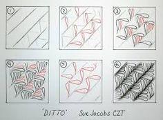 """Résultat de recherche d'images pour """"zentangle patterns tutorial"""""""