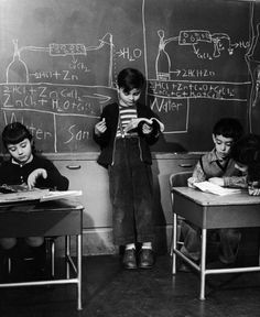 Love the old photographs ... would like to see a follow up story on these children.  Genius School by Nina Leen 1948 | LIFE Inside a 'Genius School,' 1948 | LIFE.com
