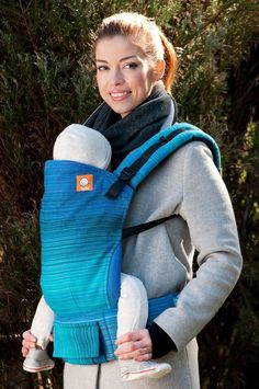 Half Standard Wrap Conversion Baby Carrier - River Medium Blue Weft: Half Standard Wrap Conversion Baby Carrier - River Medium Blue Weft has beauty of woven wrap & the ease and comfort of Tula Baby Carriers. Baby Carrying, Best Baby Carrier, Woven Wrap, Baby Carriers, Babywearing, River, Medium, Blue, Baby Wearing