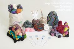 Another awesome giveaway from Expression Fiber Arts :)