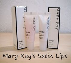 Mary Kay Satin Lips set......probably the one Mary Kay product I could not live without