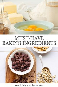 This list of basic baking ingredients will guide you on how to stock your pantry with everything you need to tackle your next baking project. Baking Basics, Baking Tips, Baking Recipes, Baking Hacks, Frosting Recipes, Cupcake Recipes, Cupcake Cakes, Cupcakes, Different Recipes