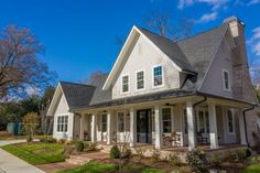 This Simonini Custom Home In Davidson Is The Essence Of Southern Charm - QC Exclusive Southern Charm, Park City, Luxury Real Estate, Custom Homes, Mansions, House Styles, Home Decor, Decoration Home, Manor Houses