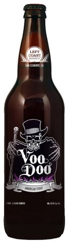 Voo Doo American Stout Growler (Delivery Only 10 Miles from San Clemente Brewery) - Left Coast Brewing Company Glass Printing, Beers Of The World, Left Coast, Beer Packaging, San Clemente, Beer Label, Fort Collins, Best Beer, Beer Brewing