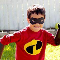 DIY: Mr. Incredible Costume T-Shirt