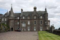Drummond Castle in Perthshire, Scotland