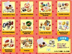 RARE re ment Miniature Mini Sweets Full 10 Set | eBay - $129