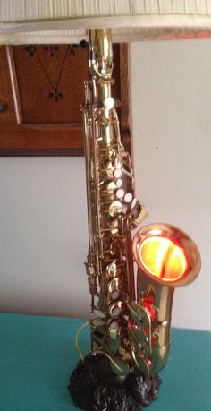 Alto Saxophone Lamp Double Wired so also a night light