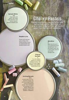 Pastel paint colors
