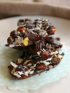 Crio Roasted Almond and Pistachio Chocolate Bark - Cooking with Tenina