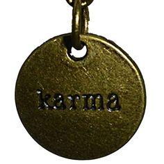 "Inspirational Uplifting Engraved ""karma"" Metal Bronze Tone Key Ring By KeyParcels Gift Wedding favours KeyParcels http://www.amazon.co.uk/dp/B00LLN994I/ref=cm_sw_r_pi_dp_f2m0tb0F4R8QZ9NA"