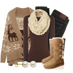 discount uggs,cheap uggs, ugg outlet, Snow ugg boots outlet for Christmas gift,Press picture link get it immediately! not long time for cheapest Fall Winter Outfits, Winter Wear, Autumn Winter Fashion, Cozy Winter, Winter Clothes, Winter Snow, Winter Style, Look Fashion, Fashion Women