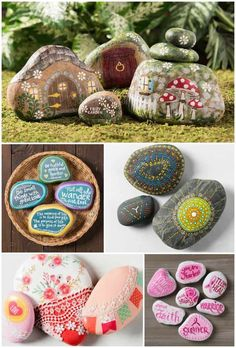 Painted rocks have become one of the most addictive crafts for kids and adults! Want to start painting rocks? Lets Check out these 10 best painted rock ideas below. Rock Painting Patterns, Rock Painting Ideas Easy, Rock Painting Designs, Art Designs, Design Ideas, Rock Painting Supplies, Mandalas Painting, Painted Rocks Kids, Painted Stones
