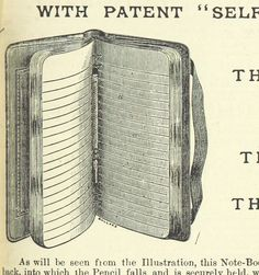 Vintage moleskine? antique hipster notebook?  Image taken from page 671 of '[Illustrated Official Handbook of the Cape and South Africa. A résumé of the history, conditions, population...