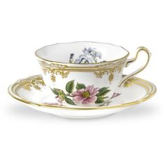 Spode 1514739 Stafford Flowers Teacup and Saucer