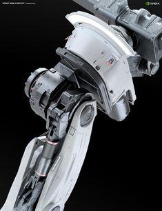 Robot Arm for Assembling scene, Gregor Kopka Mechanical Arm, Mechanical Design, Futuristic Robot, Industrial Robots, Industrial Design, Mecha Suit, Hard Surface Modeling, Humanoid Robot, Robots Characters