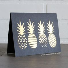 Concord & 9th POP ART PINEAPPLE Clear Stamp Set 10001 at Simon Says STAMP!