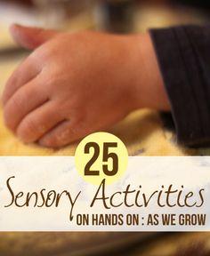 25 Sensory Activities for Kids.