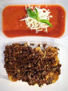 Kaşarlı Domates Çorba & Kıymalı Patates Oturtma