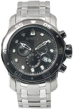 05576f71af6 Invicta Men s Pro Diver Stainless Steel Chronograph Watch