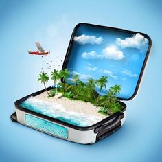 Find Open Suitcase Tropical Island Inside Traveling stock images in HD and millions of other royalty-free stock photos, illustrations and vectors in the Shutterstock collection. Thousands of new, high-quality pictures added every day. Photomontage, Costa Rica, Making A Vision Board, Illustrations, Travel Agency, Travel Ads, Travel Gadgets, Dream Vacations, Vacation Destinations