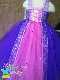 rapunzel costume ideas Rapunzel Tutu dress Rapunzel tulle dress Rapunzel by GlitterMeBaby, $65.00