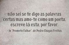 #PedroChagasFreitas Words, Frases, Thoughts